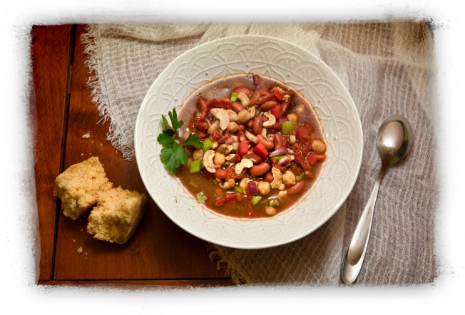Trish's Spicy Cashew Chili