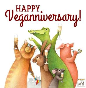 Happy Veganniversary