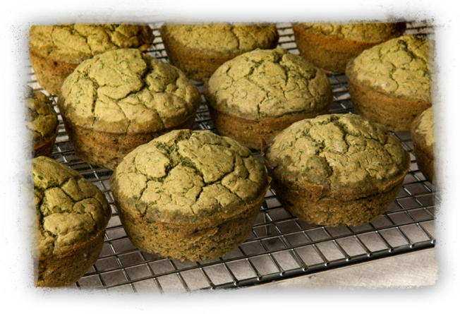 Gorgeous Green Muffins